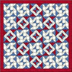 Blockade quilt pattern and tutorial, free from Ludlow Quilt and Sew