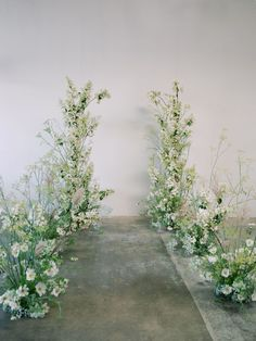We are head over heels in love with this elegant wedding editorial that is simply poetic. California wedding vendors have outdone themselves using delicate wild flowers and daisies that overflow from every corner. Aisle Flowers, Wedding Ceremony Flowers, Wedding Ceremony Decorations, Ceremony Backdrop, Arch Wedding, Wedding Aisles, Church Decorations, Wedding Backdrops, Wedding Ceremonies
