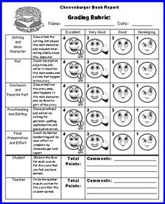 hamburger book report Banish boring book reports with this fun book report sandwich each ingredient helps students summarize and describe plot, characters, and setting.