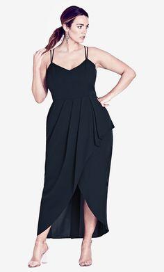 City Chic OMBRE LUST MAXI DRESS Women s Plus Size Fashion