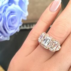 Martin Katz - Interview With The Engagement Ring Master - engagement ring selfie, proposal, rose gold