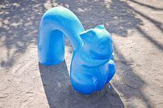 concrete playground squirrel
