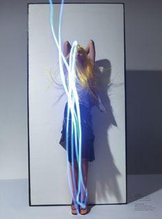 Lida Fox by Viviane Sassen (Corpus Electra – Acne Paper #13 Spring-Summer 2012) 7