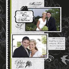 Make a scrapbook of all the 'firsts' during your first year of marriage