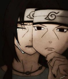 Behind the mask, Itachi.