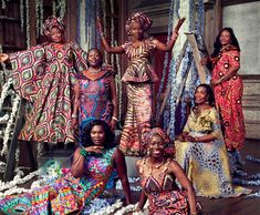 The Strength and Beauty of African Women | We would like to introduce you to 8 powerful and inspiring ladies, who are the faces of the 170 years of Vlisco campaign. Through them we we honour all African women and wish to inspire you with their exciting stories.