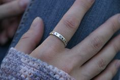 Hey, I found this really awesome Etsy listing at https://www.etsy.com/listing/248298146/sterling-silver-hand-stamped-stacking