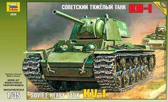 1:35 KV-1 SOVIET HEAVY TANK - Modelling | Hobbyland