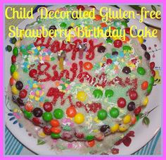 Crafty Moms Share: Gluten Free Birthday Cake