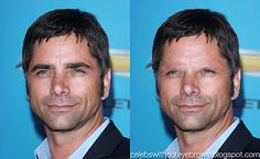 Celebrities without eyebrows site.  I did not realize how much they make a difference!