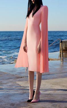 Nina Long Sleeve Lady Dress by ALEX PERRY for Preorder on Moda Operandi