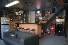 Harley Man Cave
