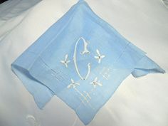 i just ADORE vintage monogrammed linens of any kind - always a wishlist item for me :)