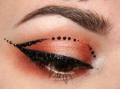 Makeup As Art - Jewelled Eyeliner https://www.makeupbee.com/look.php?look_id=93831heather m