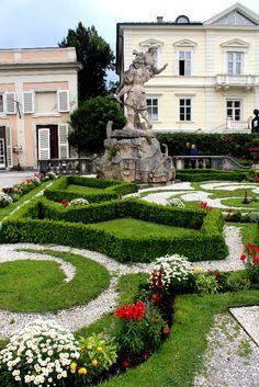 Schloss Mirabell, Salisburgo, Austria