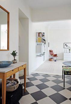 Scandinavisch appartement - hal.