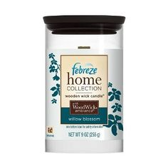 Frebreze Willow Blossom Candle... makes your whole house smell clean, but not in a grandmother smell kind of way!
