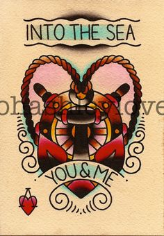 I own this print. Wondering if it would make a good tattoo...--Ashley Love