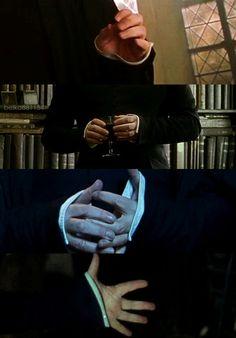 Severus's hands