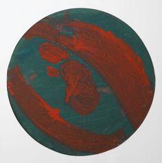 Lubomir Blecha, design for decorative glass disk, 1956, aquarelle on paper, D: 31,8 cm, UMPRUM Prague First Contact, Fascinator, Glass Art, Africa, Tropical, Bohemian, Kids Rugs, Artist, Inspiration