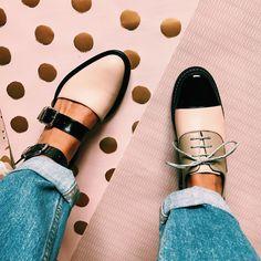 1,995 отметок «Нравится», 30 комментариев — I N C H 2 • Handmade Shoes (@inch2) в Instagram: «🐰💜🌿»