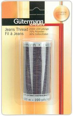 Jeans Thread 220 Yards-Indigo