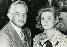 Le Prince Rainier III et la Princesse Grace - Fond Alexandre - Coiffeur de la Princesse Grace - Photo Gianni Bozzacchi.