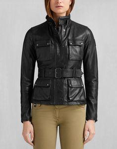 The Triumph Jacket - Black Leather Jackets