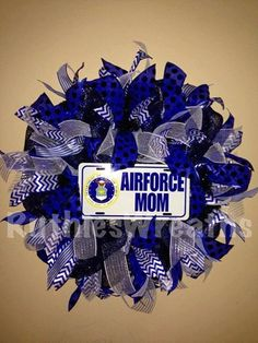That's me. Air Force mom.