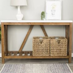 Find tv over fireplace mantle that look beautiful Foyers, Entryway Decor, Entryway Tables, Entry Table Diy, Entrance Table, Home Living Room, Living Room Decor, Living Spaces, Dining Room