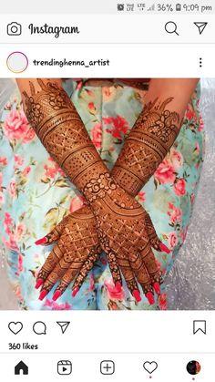 Arabic Bridal Mehndi Designs, Wedding Henna Designs, Engagement Mehndi Designs, Floral Henna Designs, Mehndi Designs Feet, Stylish Mehndi Designs, Full Hand Mehndi Designs, Mehndi Designs For Girls, Henna Art Designs