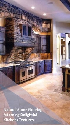 There is nothing like the natural stones that can create a delightful yet crisp display with an immense rate of patterns and textures for our home. The elegant style has been admired for a long time so that people never overlook its beauty. Natural Stone Flooring, Natural Stones, Crisp, Kitchens, Display, Texture, Patterns, Elegant, Create