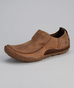 Take a look at this Cushe Old Brown Leather Evo Base Shoe on zulily today!