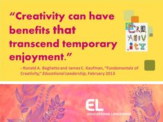 5 insights to help educators nurture student creativity in ways that enhance academic learning.