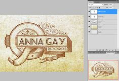 How to make a logo in photoshop: see if it can be done in Paintshop!