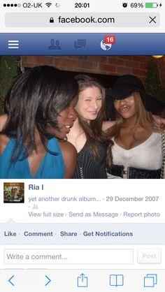Lady Khadija Abiriya Idi Amin Dada with friends Ria I at Maddox Nightclub circa 2007