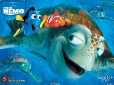 Finding Nemo is a 2003 American computer-animated comedy adventure film produced by Pixar Animation Studios and released by Walt Disney Pictures. Film Pixar, Pixar Movies, Kid Movies, Family Movies, Great Movies, Movies To Watch, Animation Movies, Awesome Movies, Cartoon Movies