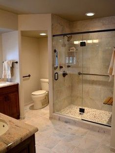 6 Engaging Cool Ideas: Shower Remodel Ideas Walk In corner shower remodel on a budget.Small Shower Remodel Shelves shower remodeling ideas with bench.Stand Up Shower Remodel Modern. Toilet Closet, Bathroom Closet, Small Bathroom, Budget Bathroom, White Bathroom, Basement Closet, Basement Bedrooms, Basement Bathroom Ideas, Small Rustic Bathrooms