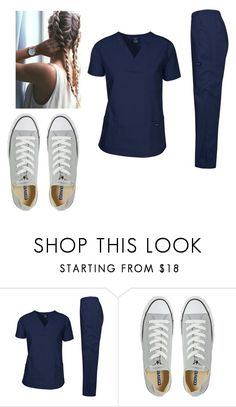"""""""Untitled #12956"""" by iamdreamchaser ❤ liked on Polyvore featuring Converse"""