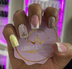 Gel Nails, Beauty Hacks, Nail Designs, Nail Art, Angel, Work Nails, Frases, Polish Nails, Short Nail Manicure