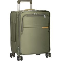 Briggs & Riley Commuter Expandable Spinner Suitcase | Olive