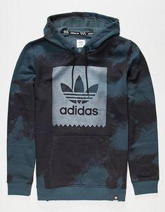 black and blue adidas hoodie Stylish Hoodies, Cool Hoodies, Cheap Hoodies, Girls Hoodies, Hoodie Sweatshirts, Adidas Outfit, Swagg, Adidas Men, Adidas Hoodie Mens