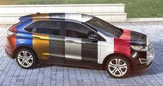 2015 Ford Edge Visualizer - All 10 Colors From Every Angle + Animated Turntables