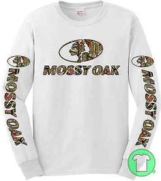 8a834b9b Long Sleeve Graphic Tee Solid Regular Size T-Shirts for Men | eBay