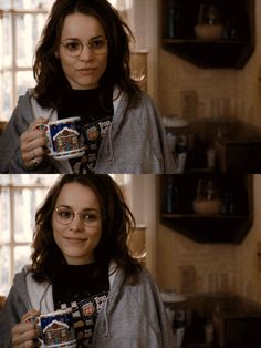 Rachel McAdams as Amy in The Family Stone. I love when she throws her book bag onto the ground when the laundry basket tips.