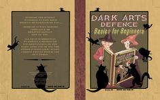 Book of defence against the darks art of the department of magic in 5th year