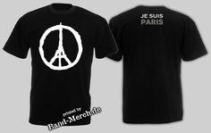 www.band-merch.de  T-Shirts im Kundenauftrag gedruckt. #jesuisparis #jesuischarlie #prayforparis #paris #merchandise #siebdruck #bandmerch #charlie #printing #druckerei