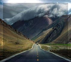 Karakoram Highway, Gilgit Baltistan in North of Pakistan