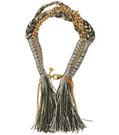 Multi-Plait And Chain Bracelet by alyssa-norton  #Matchesfashion