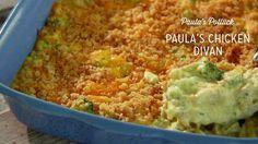 Check out what I found on the Paula Deen Network! Paula's Chicken Divan http://www.pauladeen.com/paulas-chicken-divan